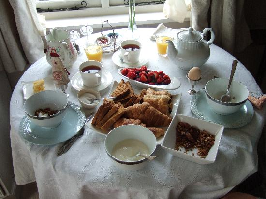 The Granary Bed and Breakfast: Breakfast!!!