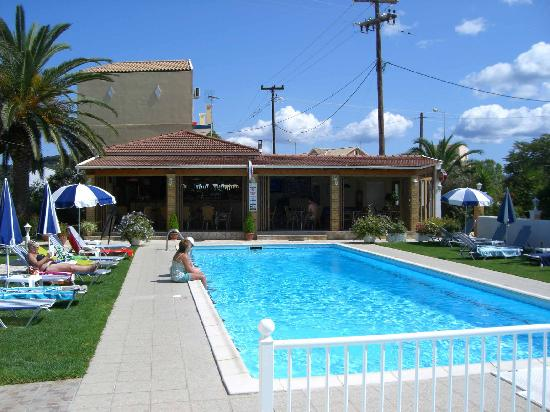 Pool Bar Picture Of Jimmy 39 S Apartments Sidari