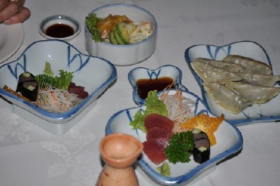 Kanpai: Sashimi and Goyza