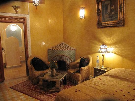 Riad & Spa Esprit du Maroc : Zimmer Bahia