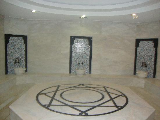 Alba Royal Hotel: Turkish bath...Be sure to get a Massage