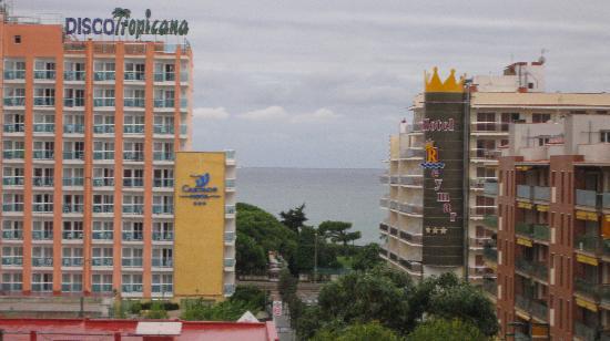 Hotel Luna Club: vue sur la mer depuis la chambre