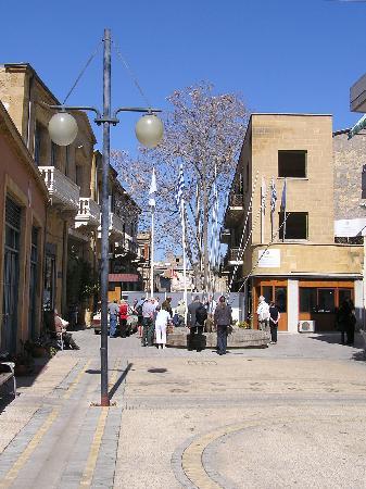Nicosie, Chypre : Ledra Street in 08