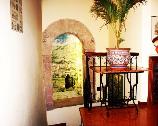 Hotel Restaurant Pallotta Assisi: Particolare interno