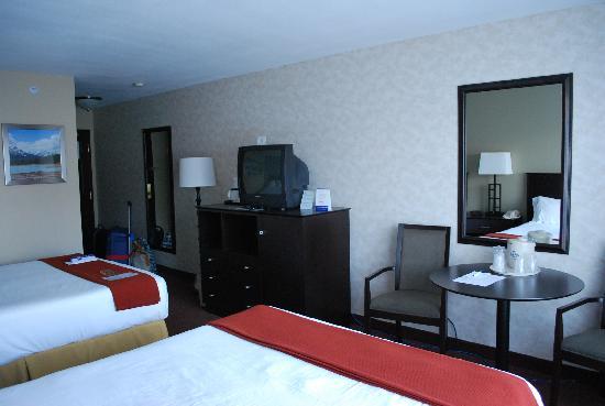 Holiday Inn Express - Kamloops: Unser Zimmer