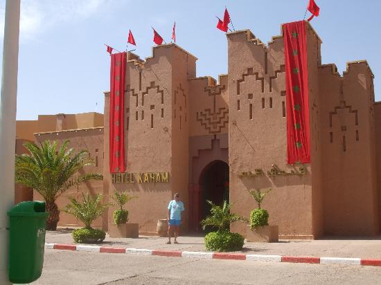 Ametis Club Karam : entrée de l'hotel