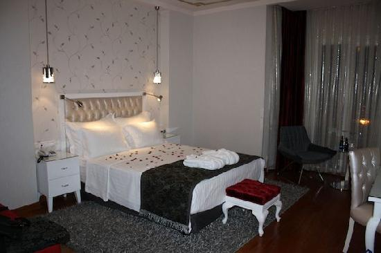 Hotel Amira Istanbul: Our beautiful room