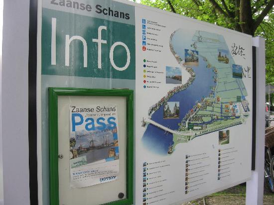 Zaanse Schans: entrance 1
