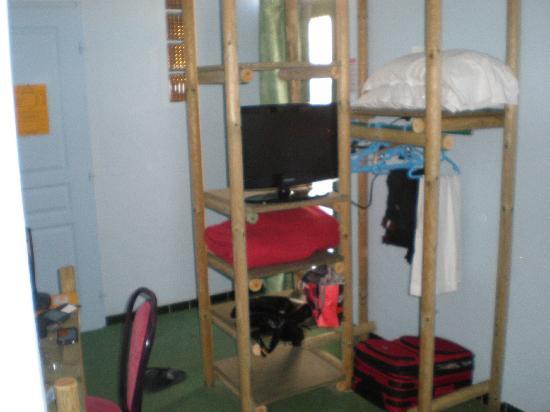 Hotel Chez Carriere : rangement
