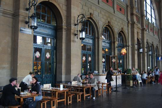 Brasserie Federal : Federale is located in the historic part of the station
