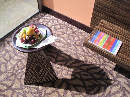 Diez Hotel Categoria Colombia: frutas de bienvenina