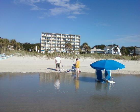 View Of Hotel From Beach Picture Cabana Ss Myrtle