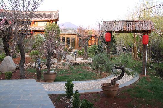 The Bruce Chalet: March Garden