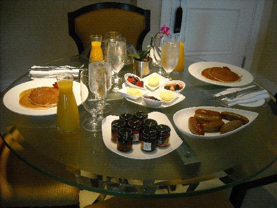 Waldorf Astoria Orlando : More Yummy Room Service