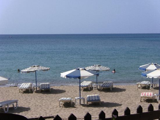Plakia Beach Pefkos Rhodes