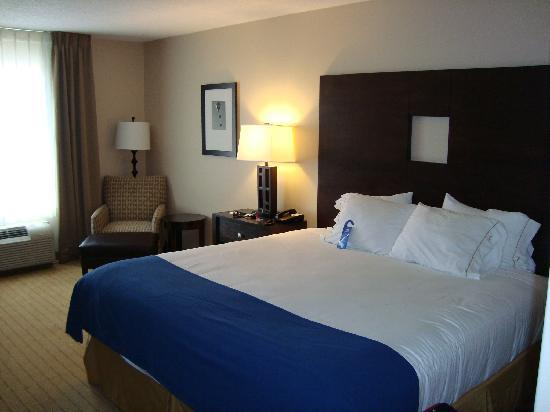 Holiday Inn Express Hotel & Suites Albuquerque Airport: A really comfy bed