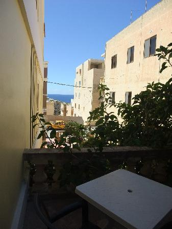 Villa Bronja: Seaview from terrace