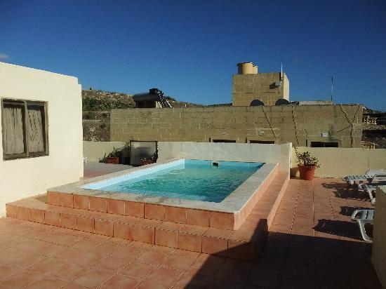 Villa Bronja: Rooftop pool