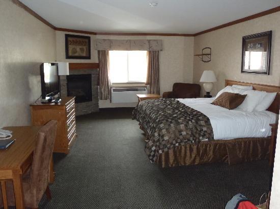 BEST WESTERN PLUS Fernie Mountain Lodge : Standard King Suite Room