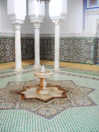 Meknes, Fas: mosque