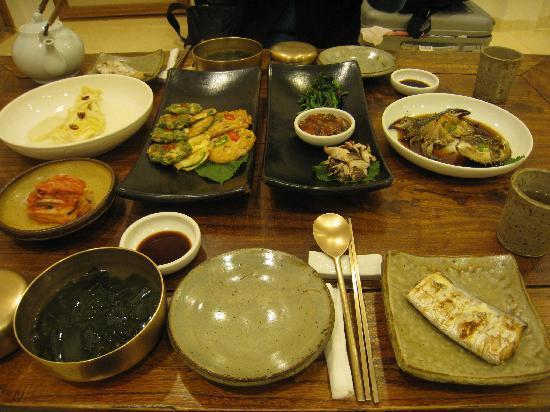 รักกูเจ: 夕食