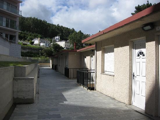 Las Sirenas Apartamentos: La entrada al apartamento