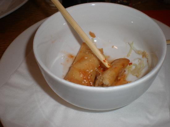 Chang: spring rolls (involtini primavera)