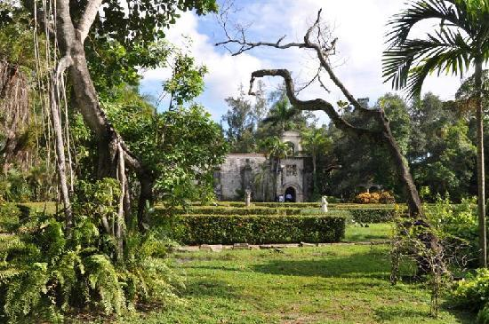 North Miami Beach, FL: First view of the Monastery