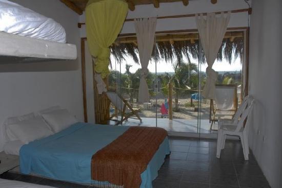 Mancora Bay Hotel: Nuestra habitacion