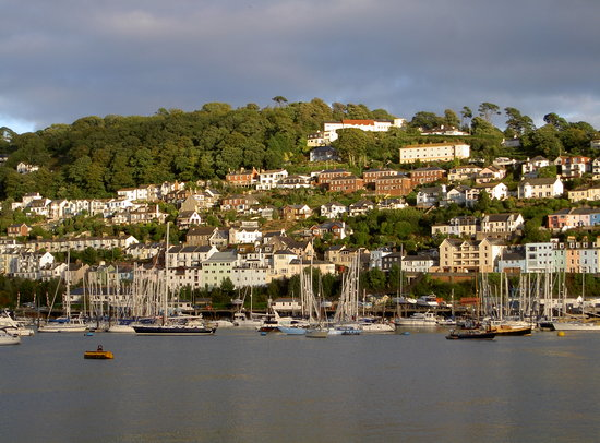 Dartmouth, UK: Pastel colours and sun set heaven