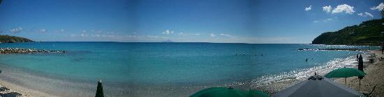 Belair Beach Hotel: panoramic beach view