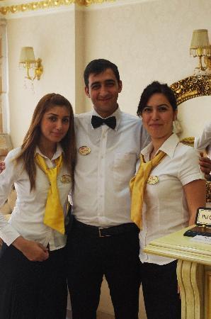 White House Hotel Istanbul : Yagmur, Omar and Elif.