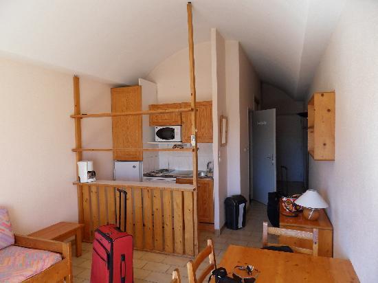 Residence le Parc Velusine : Notre chambre à l'arrivée