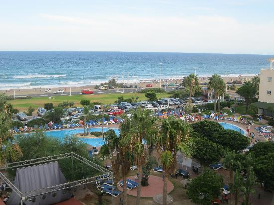 Hotel Best Mojacar: view from balcony
