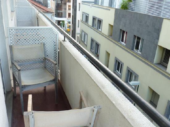 Hotel Orquidea : Balkon
