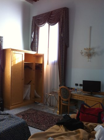 Ca' Bauta: particolare della camera
