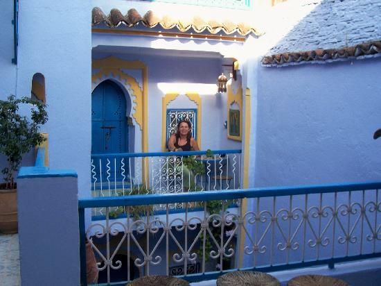 Hotel Dar Terrae: sur le balcon des chambres
