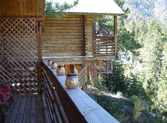 Mt. Charleston Lodge: from our back porch