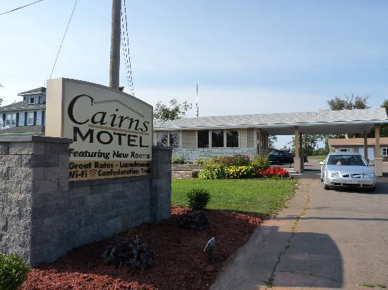Cairns Motel : Main entry-lobby