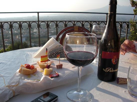 Villa Palmentiello: Terrasse