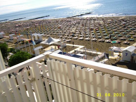 Hotel Tritone: vista camera superior
