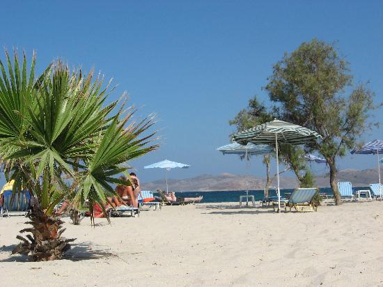 Atlantica Marmari Beach: Spiaggia