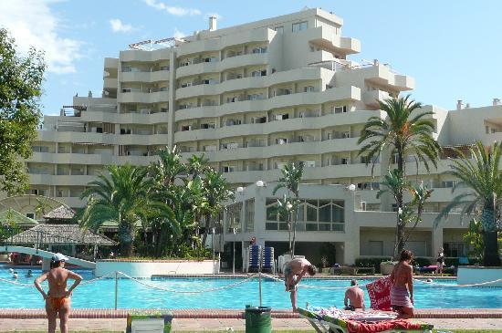 Benal Beach Complex: One of 4 apartment blocks