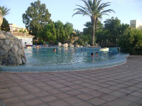 Apartamentos Moguima: la piscina