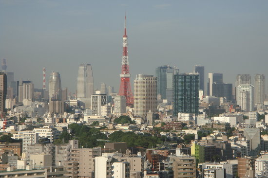 The Westin Tokyo: View from my room