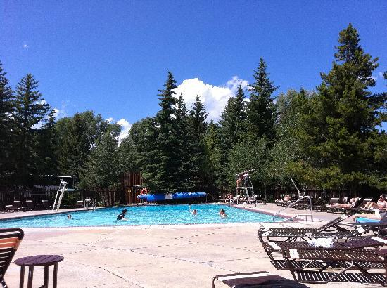 Swimming Pool At Nearby Jackson Lake Lodge Picture Of