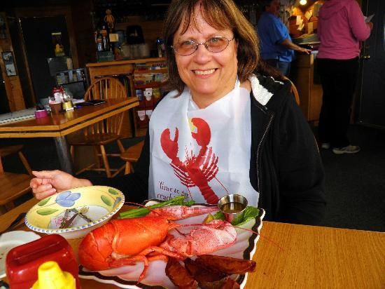 Bass Harbor, Мэн: Soft Shell Lobster