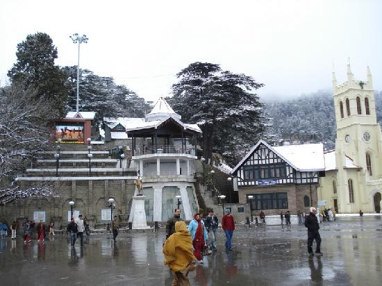 Shimla, India: The Ridge