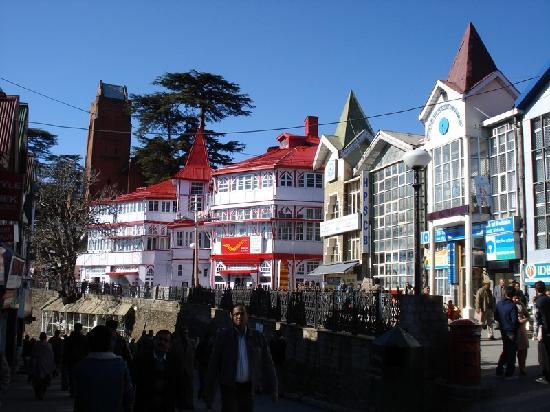 Shimla, India: Scandal Point