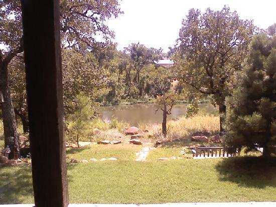 Medicine Park, OK: the view from the porch